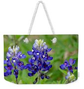 Texas Bluebonnets Weekender Tote Bag