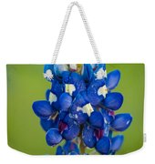 Texas Blue Weekender Tote Bag