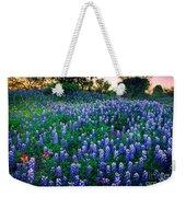 Texas Bluebonnet Field Weekender Tote Bag
