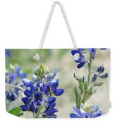 Texas Bluebonnets 01 Weekender Tote Bag