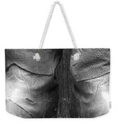 Texas Boots Portrait - Bw 01 Weekender Tote Bag