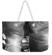 Texas Boots Portrait - Bw 02 Weekender Tote Bag