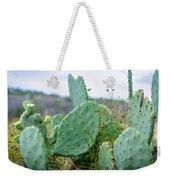 Texas Cactus Weekender Tote Bag