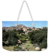 Texas Canyon Landscape Weekender Tote Bag