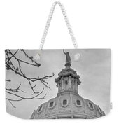 Texas Capital Dome In Monochrome Weekender Tote Bag