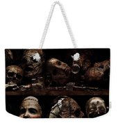 Texas Chainsaw 3d Faces Weekender Tote Bag