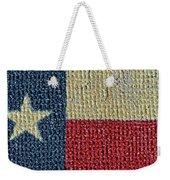 Texas Flag Weekender Tote Bag