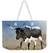 Texas Longhorn #7 Weekender Tote Bag by Betty LaRue