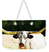 Texas Longhorn - Bull Cow Weekender Tote Bag