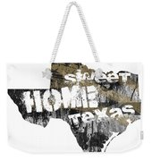 Texas Map Cool Weekender Tote Bag