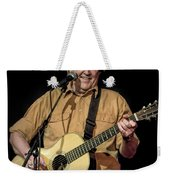 Texas Singer Songwriter Guy Clark In Concert Weekender Tote Bag