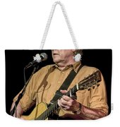 Texas Singer Songwriter Guy Clark Weekender Tote Bag
