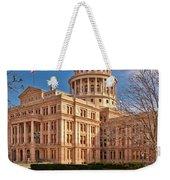 Texas State Capitol Building Weekender Tote Bag