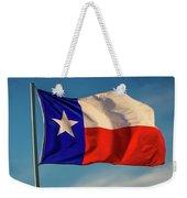 Texas State Flag - Texas Lone Star Flag Weekender Tote Bag