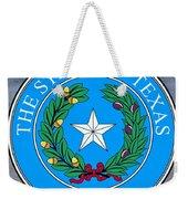 Texas State Seal Weekender Tote Bag