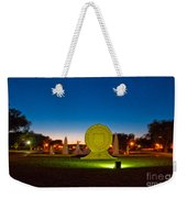 Texas Tech Seal At Night Weekender Tote Bag