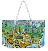 Texas Usa Weekender Tote Bag
