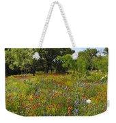 Texas Wildflower Medley Weekender Tote Bag