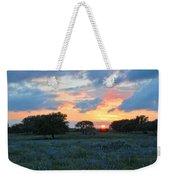 Texas Wildflower Sunset  Weekender Tote Bag