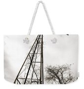 Texas Windmill Weekender Tote Bag