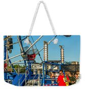 Text Softly...and Carry A Big Stick Weekender Tote Bag by Steve Harrington