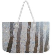 Textural Forest Weekender Tote Bag
