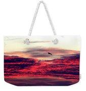 Textured Clouds Weekender Tote Bag