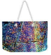 Texture And Color Abstract Weekender Tote Bag