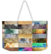 Texture Collage Weekender Tote Bag