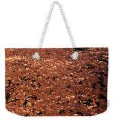 Texture In Red Weekender Tote Bag