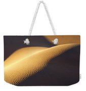 Texture Pattern On Sand Dunes Weekender Tote Bag