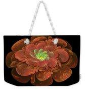 Textured Bloom Weekender Tote Bag by Sandy Keeton