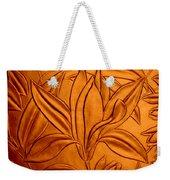 Textured Flower3 Weekender Tote Bag