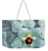 Textured Hoya Weekender Tote Bag