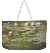 Textured Lilies Image  Weekender Tote Bag