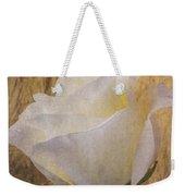 Textured Rose Weekender Tote Bag