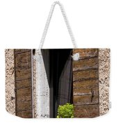 Textured Shutters Weekender Tote Bag