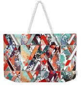 Textured Structural Abstract Weekender Tote Bag