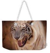 Textured Tiger Weekender Tote Bag