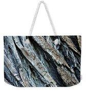 Textured Tree Bark Weekender Tote Bag