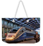 Tgv At The Train Station  Weekender Tote Bag