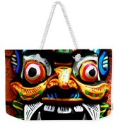 Thai Buddhist Mask Weekender Tote Bag