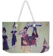 Thai Dance Weekender Tote Bag