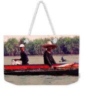Thai Fisherman Weekender Tote Bag
