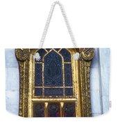 Thai Temple Window Weekender Tote Bag