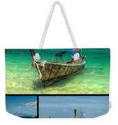 Thailand Longboats Weekender Tote Bag