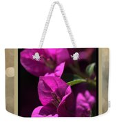 Thank You - Bougainvillea Flowers Weekender Tote Bag