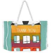 Thank You Card Weekender Tote Bag