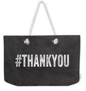 Thank You- Greeting Card Weekender Tote Bag