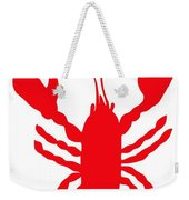 Thank You Lobster With Feelers Weekender Tote Bag